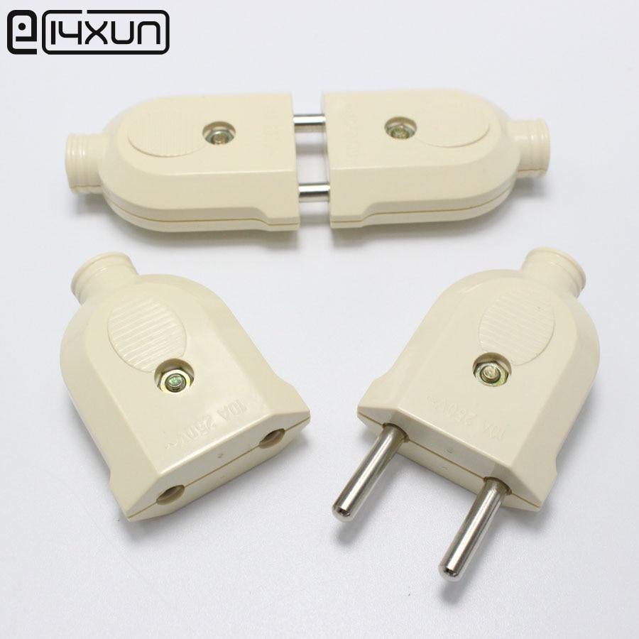 Pairs a v round pin ac eu male female electrical