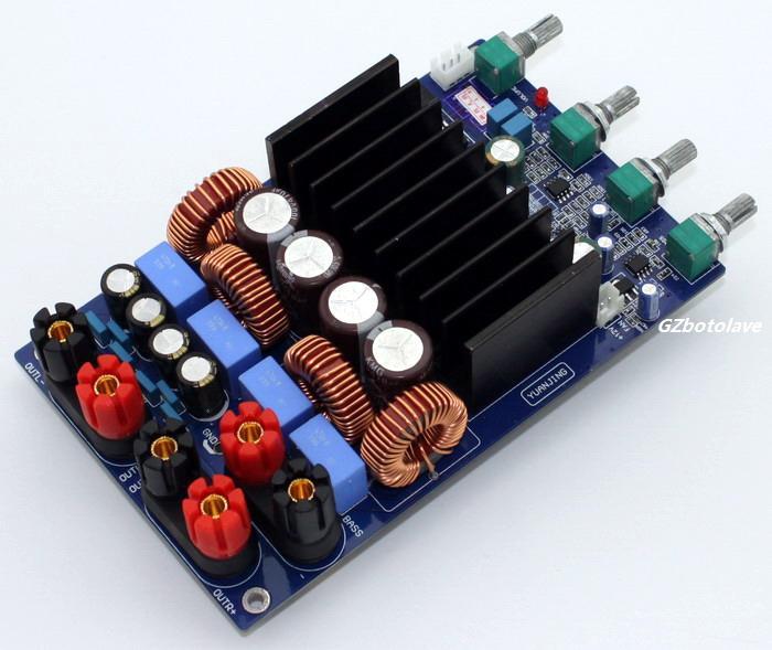 TAS5630 2.1 4ohm Class D Digital Amplifier Board 300W+150W+150W