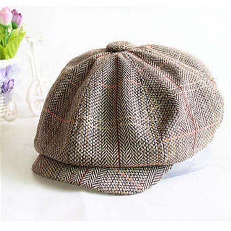 49465414 ... Wool Tweed Newsboy Gatsby Cap Ivy Driving Mens Hat Winter: 2016 Fashion  Wool Tweed Cabbie