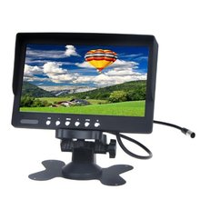 7″ TFT LCD Car Rearview Color Monitor for VCD DVD GPS Camera