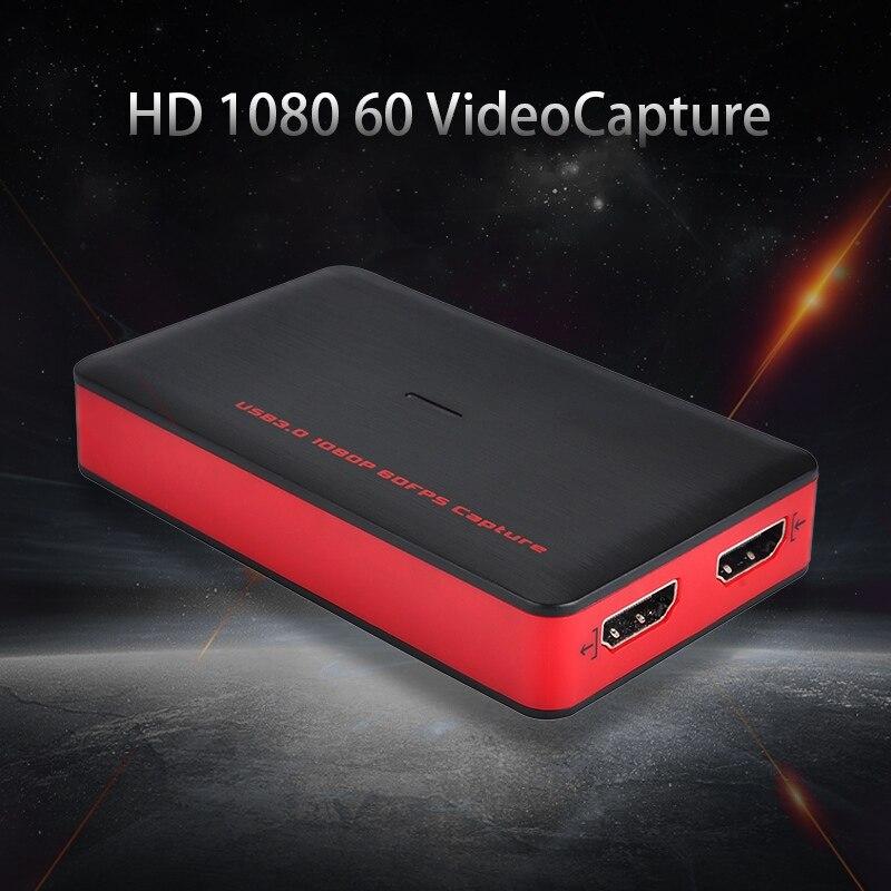 EZCAP HDMI vers USB 3.0 dispositif de carte de Capture vidéo 1080 P enregistrement vidéo Full HD pour Winodws Mac prise en charge du Streaming en direct
