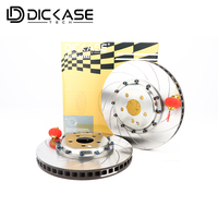Dicase Авто заменяемой тормозной диск с центр колокол для 6pot тормозной Кит тормозной Системы для BMW/Benz/ audi/Honda/Kia/vw/Suba