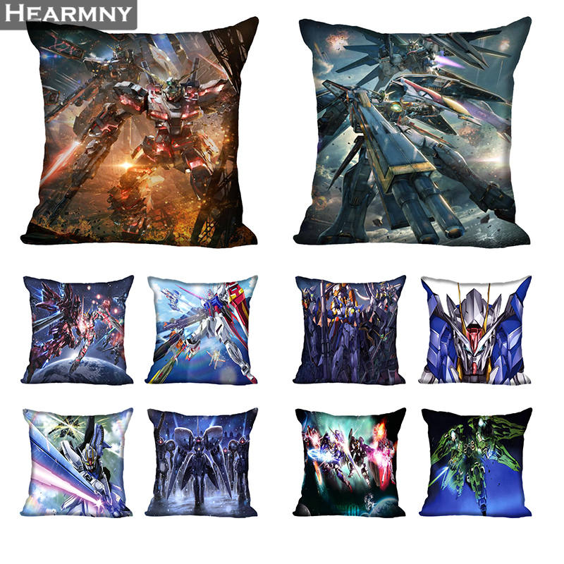 Gundam Hot Sale Pillow Case High Quality New Year's Pillowcase Decorative Pillow Cover For Wedding Decorative Christmas Goods