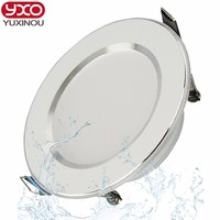 Hot Sale 5W 7W 9W Waterproof LED Downlight Dimmable Warm White Cold White Recessed LED Lamp