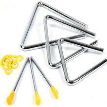 Preschool Children Toy Musical Instrument Rhythm Band Triangle Orff Educational Toy