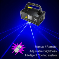 New SUNY Remote 450mw BLUE Laser Stage Lighting Scanner DJ Disco Party Show Light LED Effect Projector Xmas Fantastic Red Green