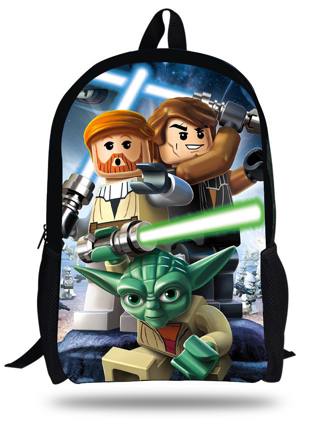 d2c9a3d1d9f8 16-inch Mochila Star Wars Backpack For Teenage Boys Kids Casual School Bag  Children Backpacks