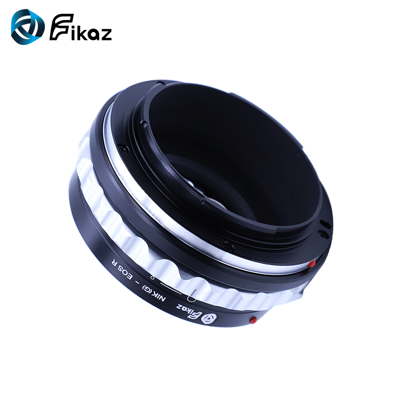 Fikaz For AI G EOS R Lens Mount Adapter Ring for Nikon F AI G Lens to Canon EOS R RF Mount Camera in Lens Adapter from Consumer Electronics