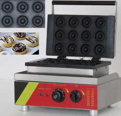 Commercial stainless steel small industrial  donut maker machine making 12 pcs at one time