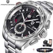 PAGANI DESIGN 2020 New Top Luxury Quartz Watches Men Sports Calendar Waterproof Stainless Steel military Clock Relogio masculino