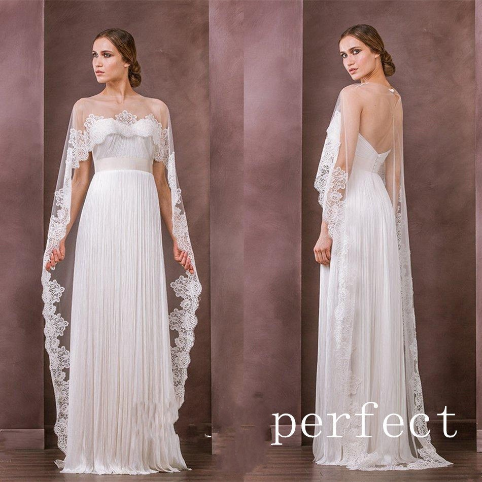 d2531149b5 wejanedress Cape See Through Wraps Long Cloak Bridal bolero Wrap full  sleeves chaleco para novia