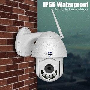 Image 3 - Hiseeu 1080P sans fil PTZ vitesse dôme IP caméra WiFi extérieur deux voies Audio CCTV sécurité vidéo réseau Surveillance caméra P2P