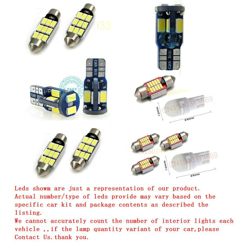 Car Led Interior Lighting For Land Rover DEFENDER Pickup L316 Car Auto automotive Interior light bulbs lamp for cars 4pc