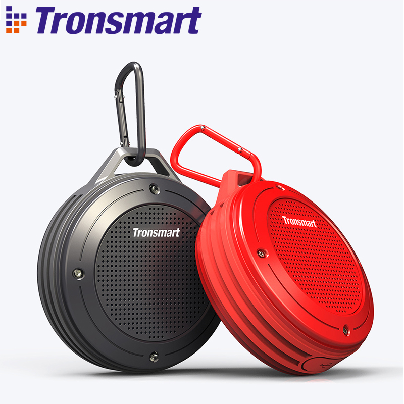 Original Tronsmart Element T4 Bluetooth 4.2 Outdoor Water Resistant Speaker Portable Mini Speaker DSP 3D Stereo Waterproof 50m t050 3w mini portable retractable stereo speaker w tf black golden 16gb max