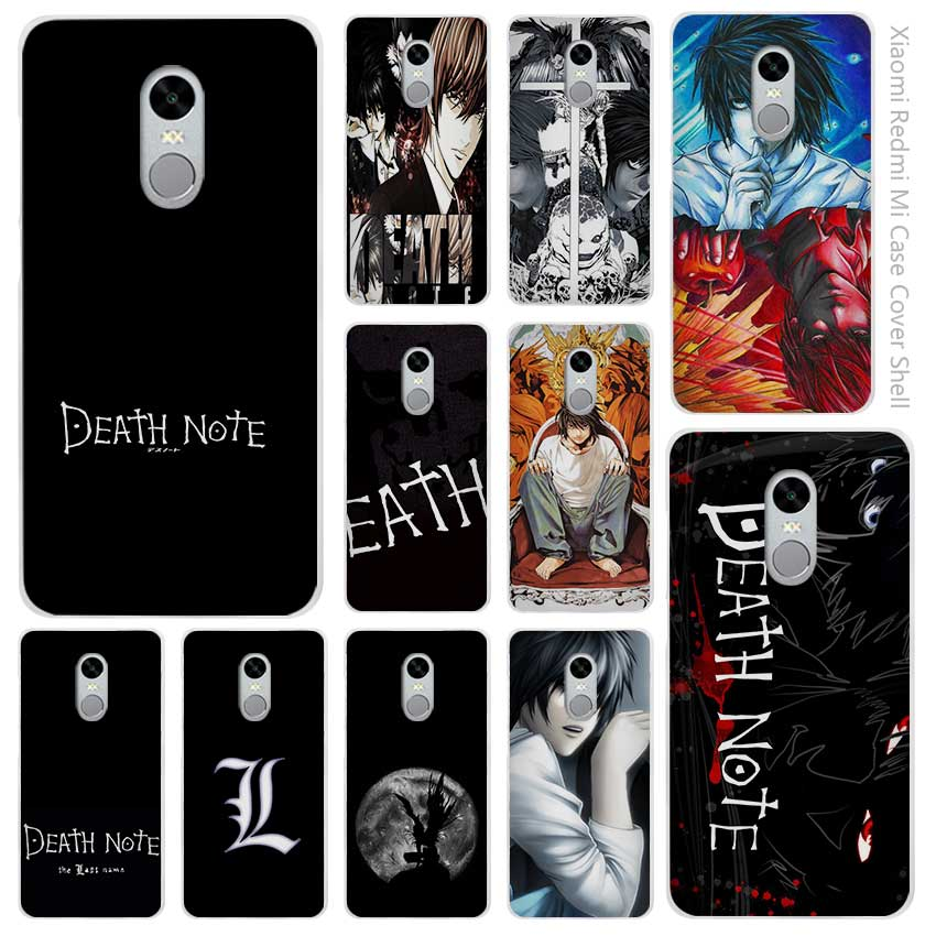 ⑤Hot Sale Death Note Clear ④ Cover Cover Case Coque For