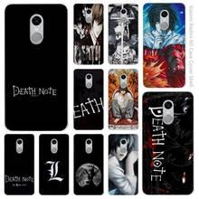 Death Note Clear Cover Case for Xiaomi Redmi Mi Note 3 3s 4 4A 4X 5 5S 5C 6 Pro