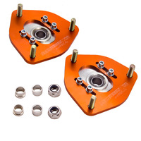2 Pieces Top Mount Camber Plate for Nissan S13 S14 Silvia 180SX 200SX 1989 1998