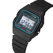 Men Sports Watches Back Light LED Digital Watch Chronograph