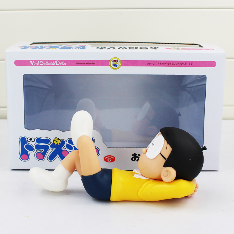 718cm Doraemon Nobita Nobi Action Figures Anime Nobita Vinyl Collectible Dolls Magic Model Kids Toys Kawaii Baby Toys with Box