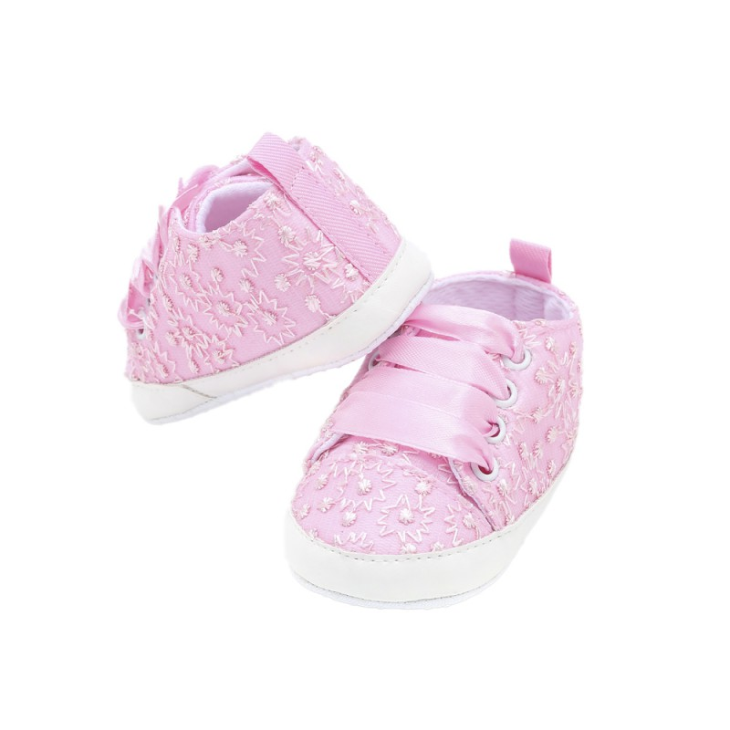 Toddler Shoes Baby Baby-Boy-Girl New Cute And Lace Beautiful Embroidered Multicolor