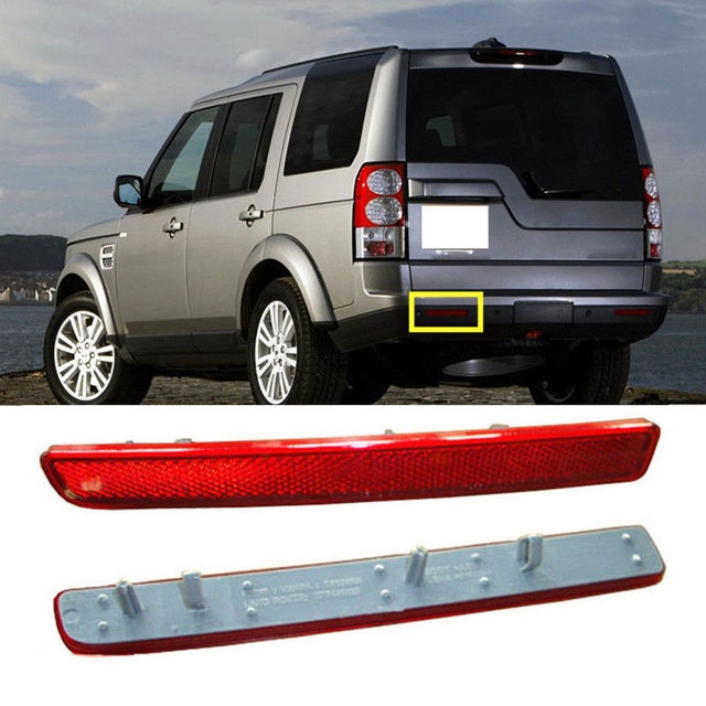 For Land Rover Lr3 2005 2009 Lr4 2010 2016 Left Rear Fog Lamp Reflective Cover