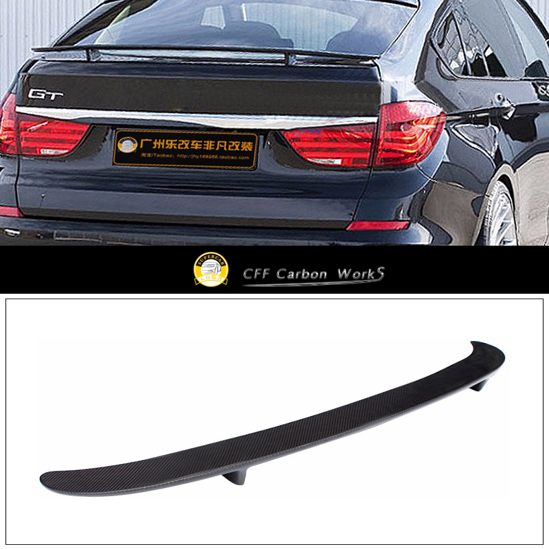 5 Series GT Gran Turisom F07 Rear Trunk Spoiler For BMW 5