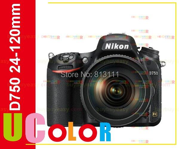 New Nikon D750 DSLR Camera Body with Nikon AF-S NIKKOR 24-120mm f/4G ED VR Lens зеркальный цифровой фотоаппарат nikon d750 af s 24 85 vr