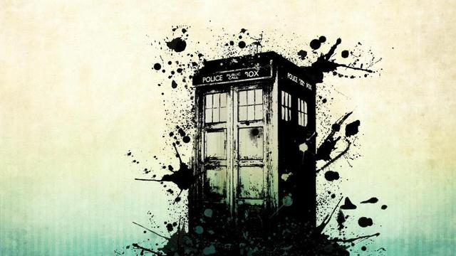 Splash color artwork paint doctor who fan art paint living room home wall art decor wood