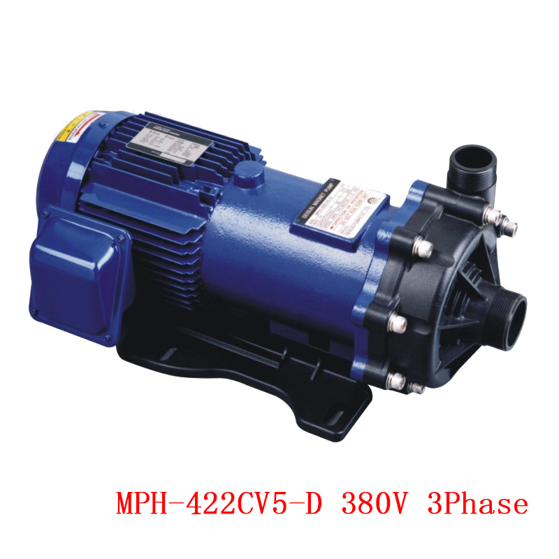 CE Approved 50HZ/60HZ  380V 3 Phase Magnetic Drive Pump MPH-422CV5-D Large Model with Super Power  Large Capacity High head food grade high temperature resisting 140 degree beer magnetic drive pump