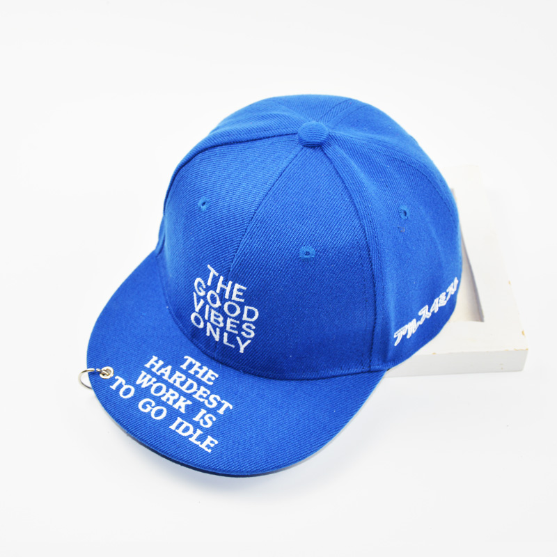 Baseball Cap Kids Hip Hop Letters THE GOOD VIBES ONLY Boys Girls Snapback  Caps with Ring 3 8 Years -in Baseball Caps from Apparel Accessories on ... b74b66587546