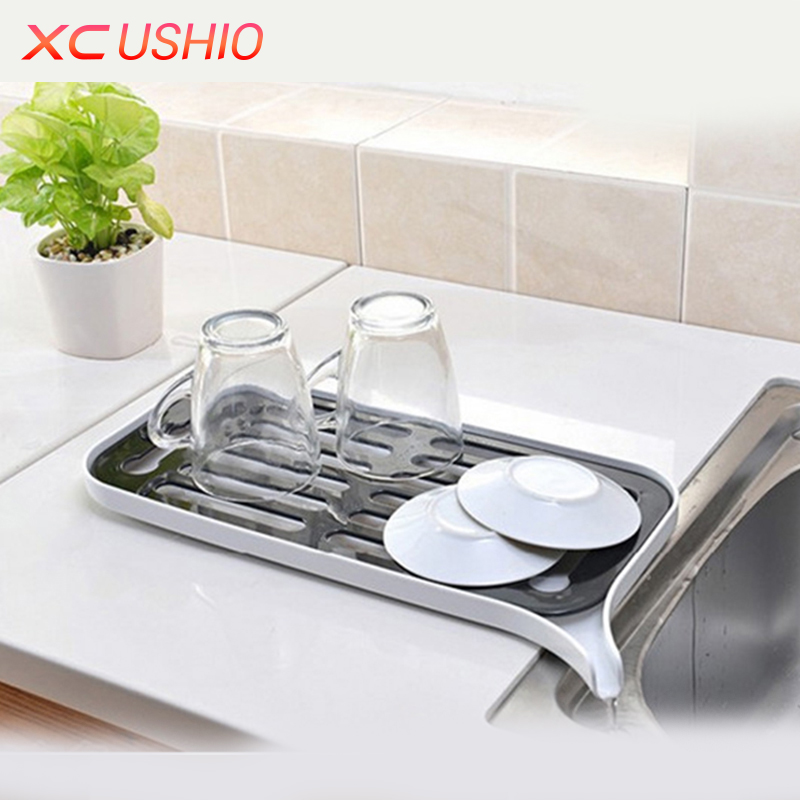 Multifunctional Double Layer Kitchen Drain Shelf Sink Draining Rack Tray Dish Bowl Storage Holder Vegetable Fruits