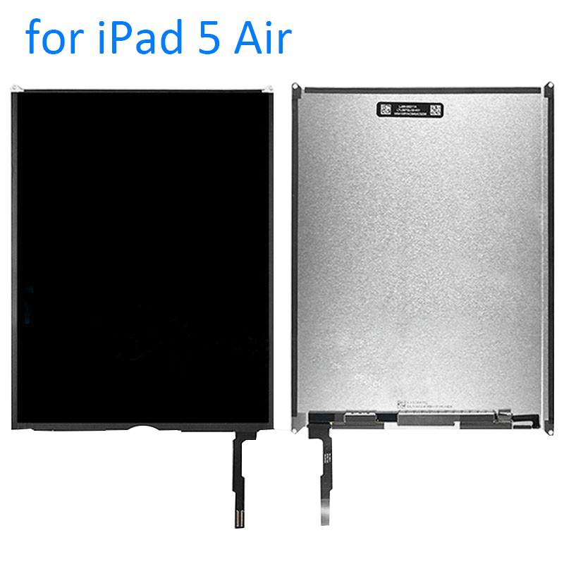ФОТО ALANGDUO for iPad 5 Air 1 A1474 A1475 A1476 Apple Tablet LCD Display Screen Replacement Repair Part + Tools + 3M Adhesive