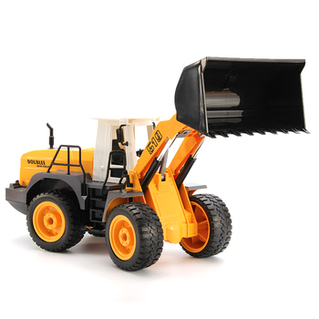 RC Car 1:16 RC Bulldozer 2.4G 9ch Remote Control Bulldozer Excavation Truck Toys Engineering Model Vehicles For Kids Gifts