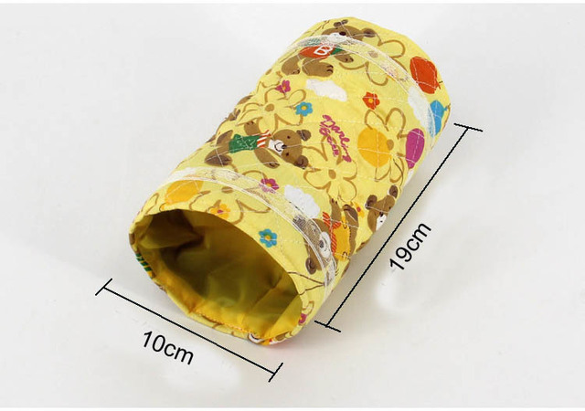 Top Sale Hamster Guinea Pig Tunnel Toy Parrot Bird Cage Bed Hedgehog Chinchilla House Cave Samll Animals Pet Products