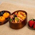 Японский стиль коробка для путешествий натуральные bento коробки для суши деревянный ящик здоровая кухонная посуда миска контейнер для еды л...
