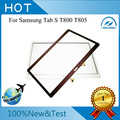 Free Shipping New Brown  White Touch Screen Digitizer Glass Replacement For Samsung Galaxy Tab S 10.5 SM-T800 T805S T805K T805L