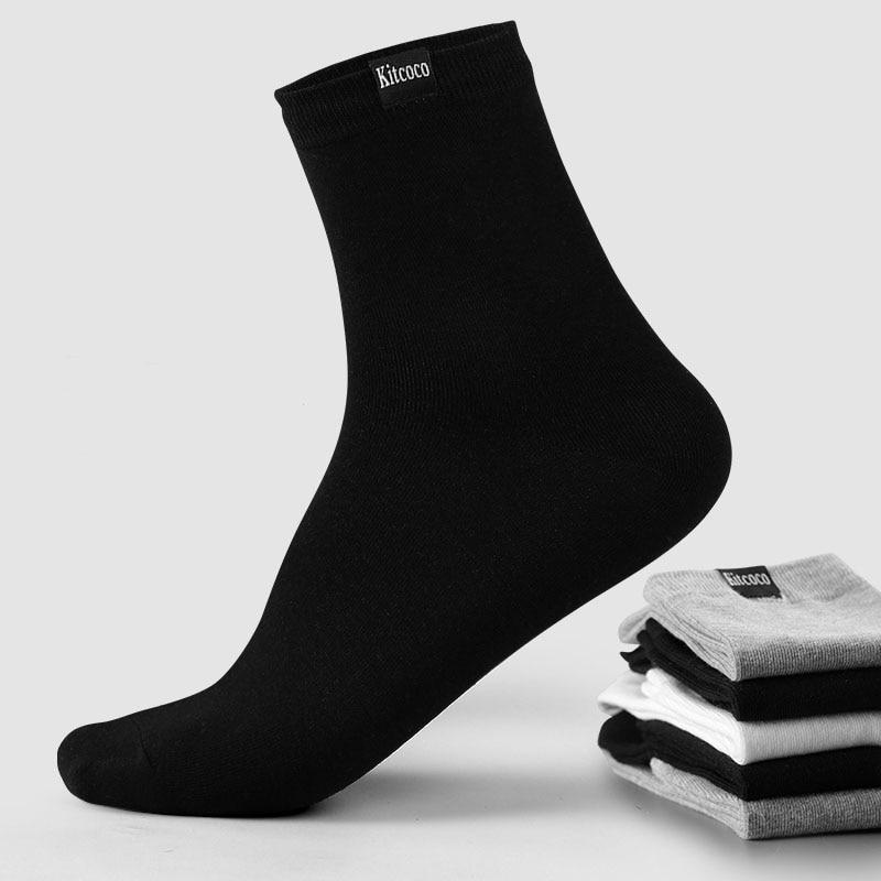 Men Socks Cotton Meia Cotton Coolmax Work Gifts For