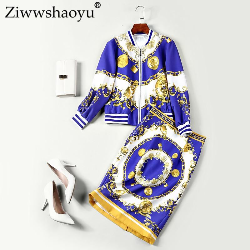Street O High Et Imprimer Taille Veste Moitié Costume unis L'automne Jupe Les cou Ziwwshaoyu Haute Etats Nouvelle Europe Multi 71pPwP