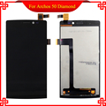 Full original Quality replacement for Archos 50 Diamond LCD display touch screen assembly With Frame Free Tools