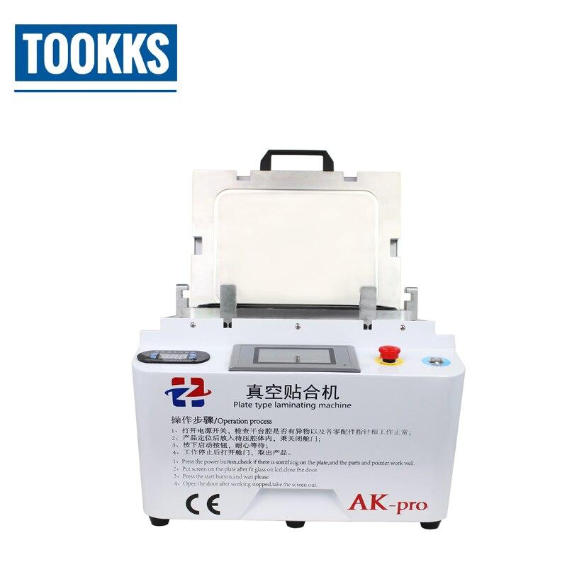 AK Pro Vacuum OCA Laminating Machine 12 inch OCA Laminator Equipment For LCD Phone Screen Refurbish Repair