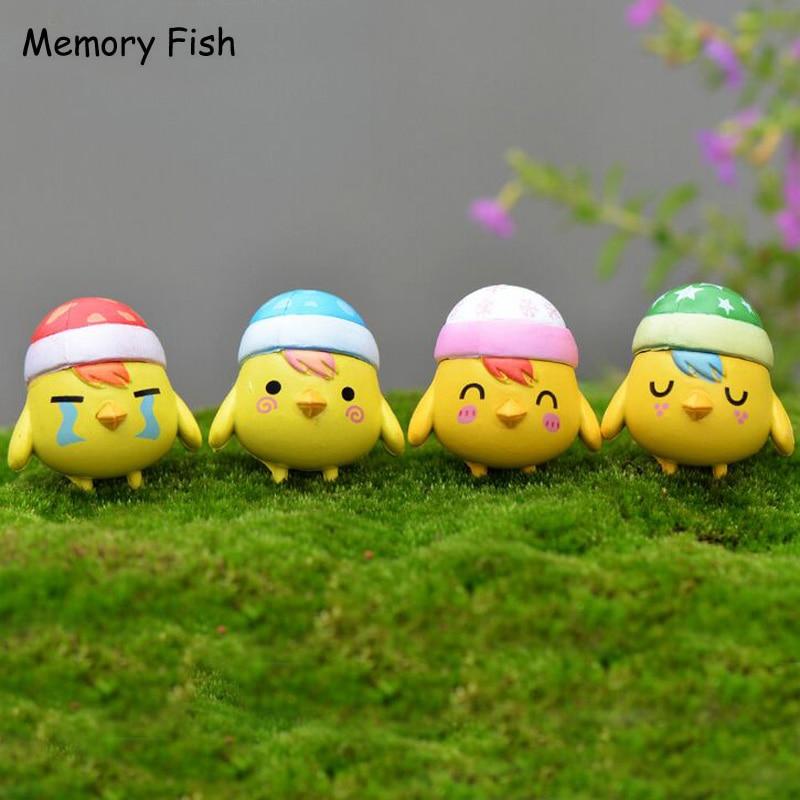 Us 855 Lucu Mini Kartun Tidur Anak Ayam Hewan Rumah Micro Garden Decor Figurines Aksi Angka Mainanboneka Diy Aksesoris Decora In Aksi Toy Angka