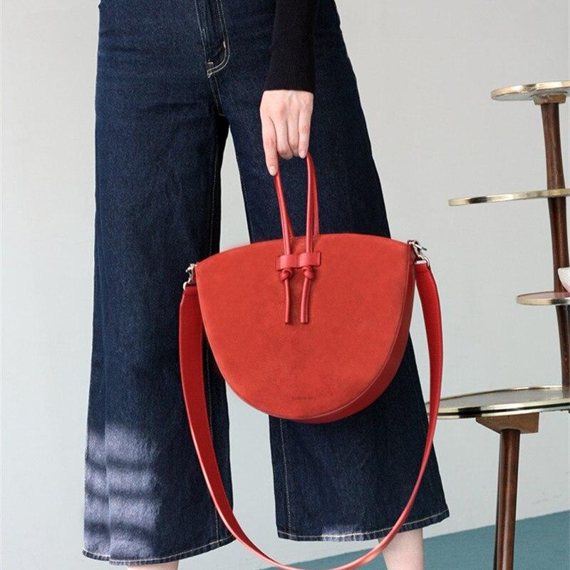 Women\'S Solid Color Saddle Bag Diagonal Mobile Wallet Shoulder Bag Casual Leather Handbag Luxury Girl Commuting School