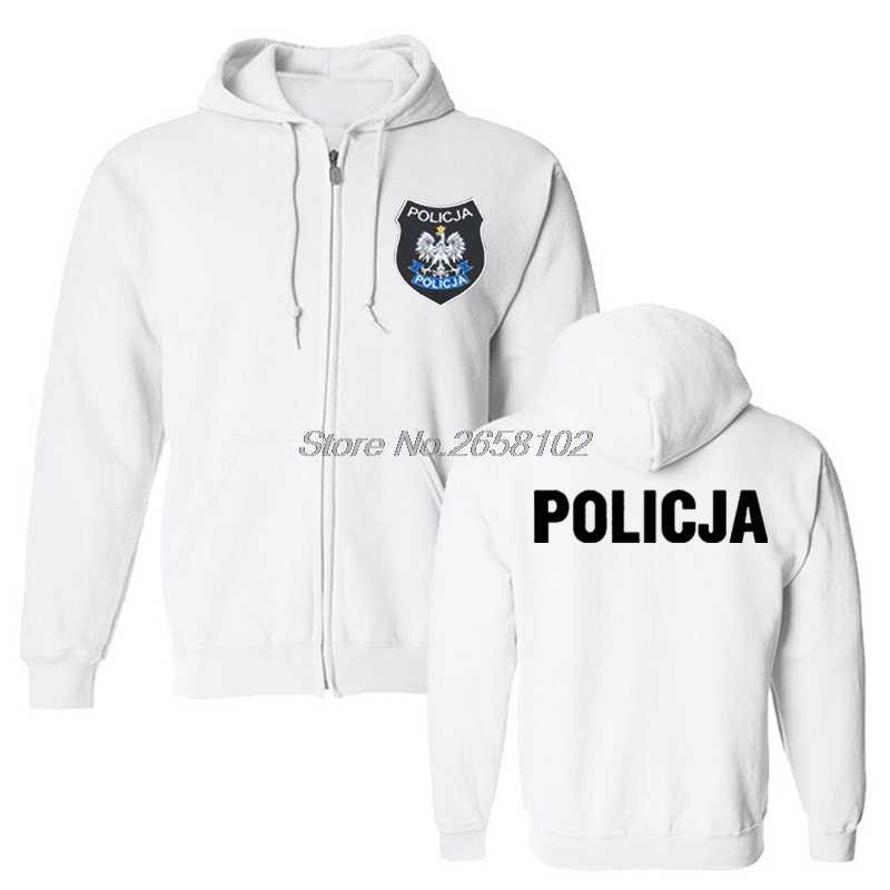 977df7f44b4 ... Fashion Poland Polish Police Policja BOA Anti Terrorist Pirotechnik  Hoodies Male Sweatshirt Harajuku Coat ...