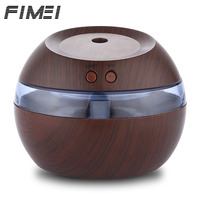 Fimei 290ml USB Essential Oil Diffuser Air Humidifier Ultrasonic Aroma Diffuser Mist Maker With Blue LED