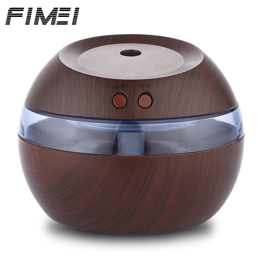 все цены на Fimei 290ml USB Essential Oil Diffuser Air Humidifier Ultrasonic Aroma Diffuser Mist Maker With Blue LED Light For Office Home