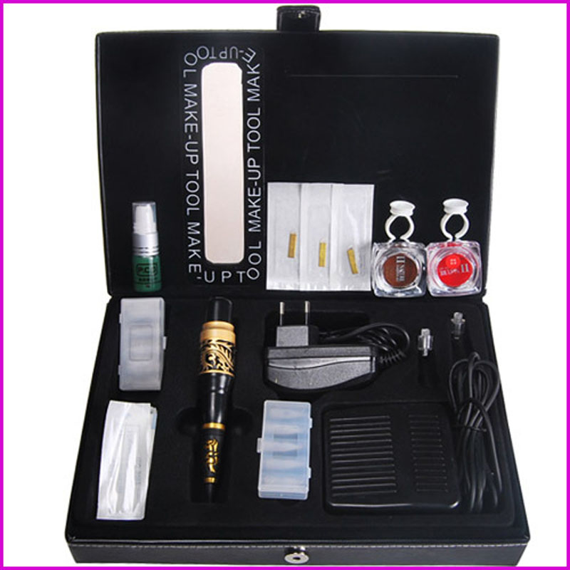 Permanent Tattoo Makeup Kit New Tattoo Eyebrow Lip Machine Make Up Pencil Tattoo Supplies