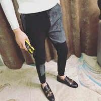 Streetwear Pantaloni stile harem Degli Uomini di Casual Pantaloni Degli Uomini di Autunno Pantalones Hombre Moda 2019 Slim Fit Uomini Jogging Pantaloni Uomo Casual