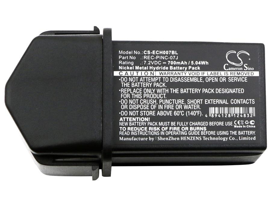 Cameron Sino 700mAh Battery PINC 07MH, REC-PINC-07J for ELCA CONTROL-07,CONTROL-07MH-A,CONTROL-07MH-D, GENIO-M,GENIO-P, TECHNO-M