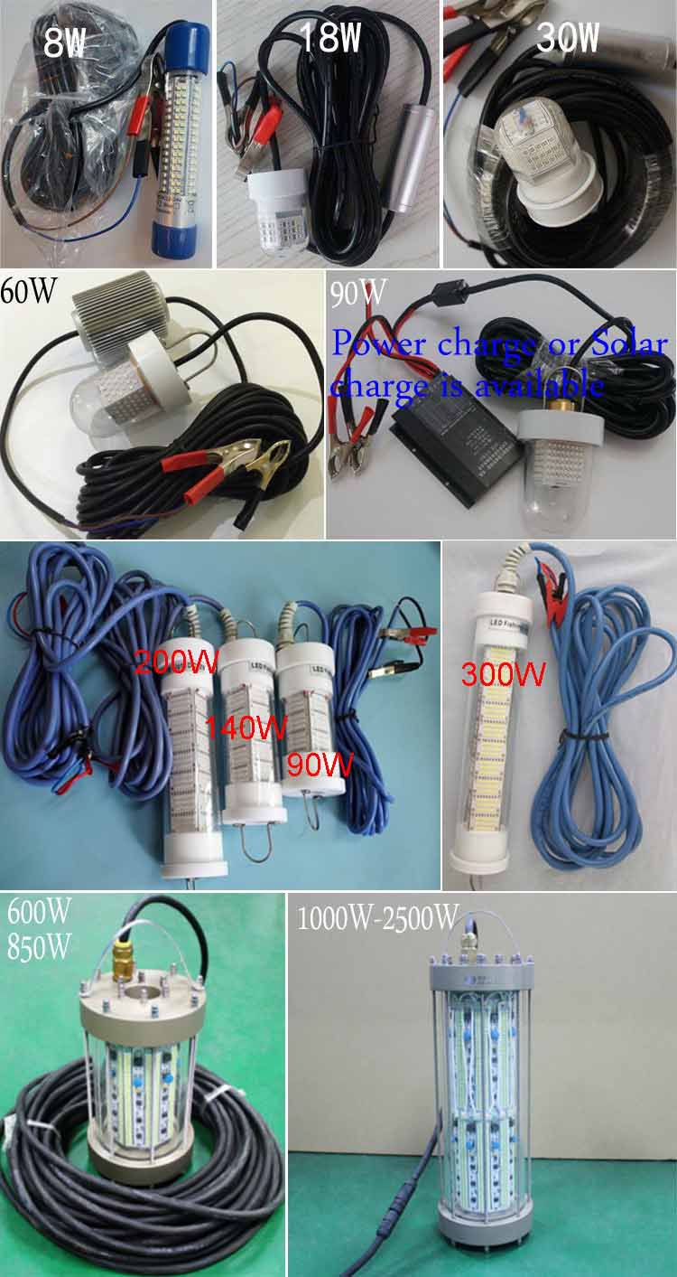 led fishing lights series new
