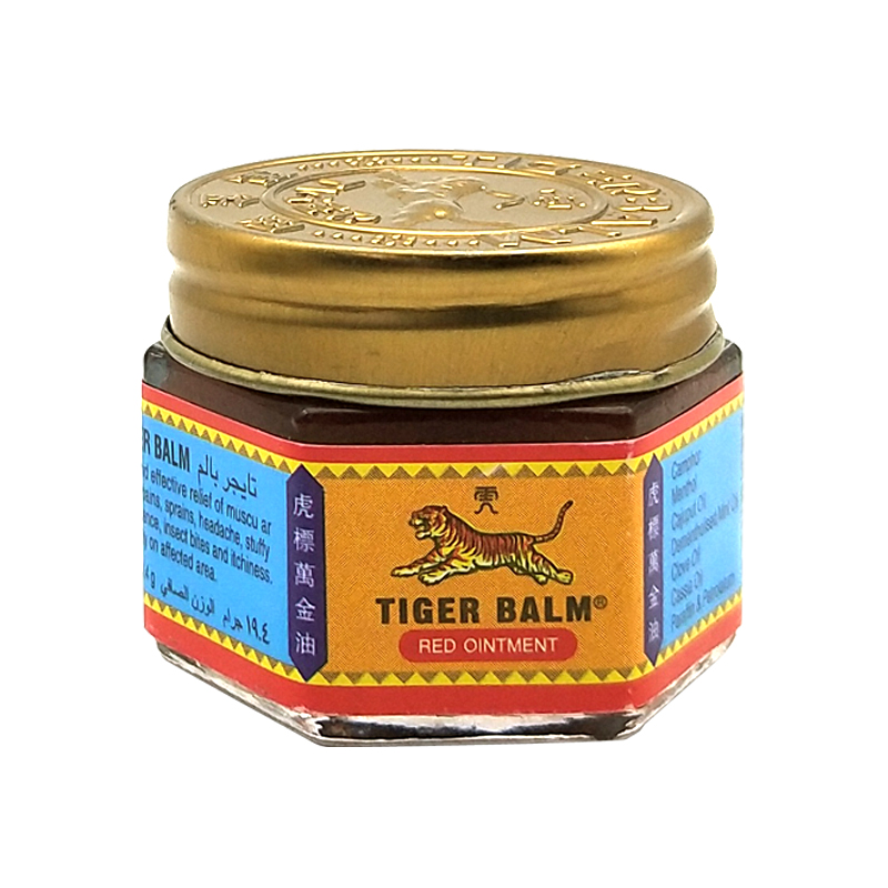 5pcs/lot 100% Original Red Tiger Balm Ointment Painkiller Ointment Muscle Pain Relief Ointment Soothe itch
